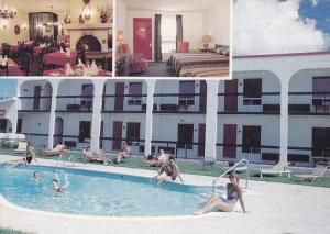 Swimming Pool,  Motel L'Escale Du Voyageur, Joliette,  Province de Quebec,  C...