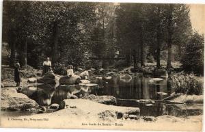 CPA Aux bords du Serein - Rosée (115650)