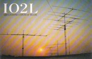 Amateur Radio IO2L Ari Lissone Italy