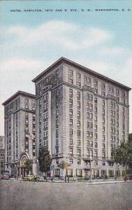 Washington DC Hotel Hamilton 14th And K Street North West