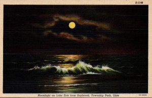 Ohio Township Park Moonlight On Lake Erie From Saybrook