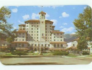Unused Pre-1980 BROADMOOR HOTEL Colorado Springs Colorado CO hr4780-16