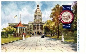 Nebraska Lincoln ,The  Nebraska  State Capitol ,Tuck 2454