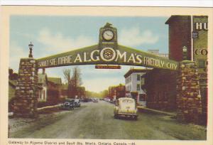 Gateway to Algoma District & SAULT STE. MARIE , Ontario , Canada , 30-40s