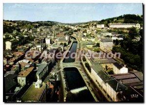 Postcard Modern Tulle Vue Generale Les Bords De La Correze