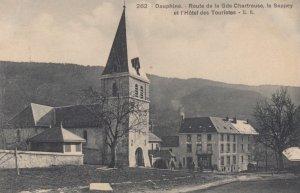 DAUPHINE, France,1910-1920s, Route de la Gde Chartreuse, le Sappey et l'Hotel...