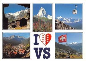 Switzerland Valais, Wallis Saas-Fee, Matterhorn, Montana, Champery Verbier