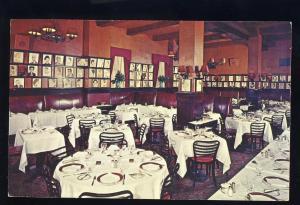New York City, New York/NY Postcard, Sardis Restaurant & Lounge,West 44th Street