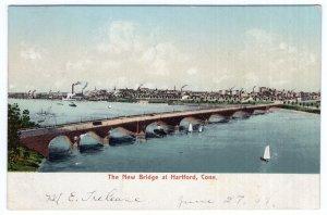 The New Bridge at Hartford, Conn