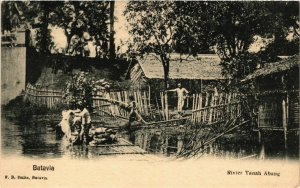 CPA INDONESIA-Batavia-Rivier Tanah Abang (329790)