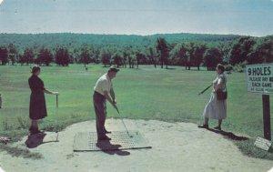 Megargel's Golf Courses, Poconos , Pennsylvania , 1952