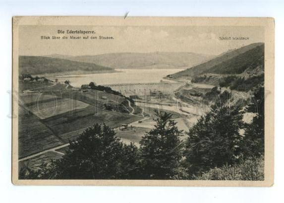 173814 GERAMNY Frankenberg Hydroelectric Power Plant Vintage