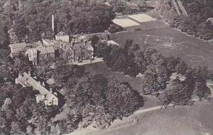New York Niagara Falls Air View of Deveaux School Albertype