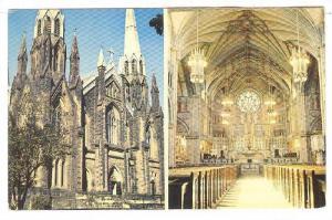 Views of St. Dunstan's Basilica, Charlottetown, Prince Edward Island,Canada,4...