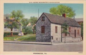 Virginia Winchester George Washingtons Headquarters