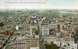NY - New York City. City View from Singer Building