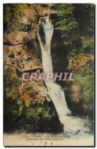 Old Postcard La Bourboule Plat Beard Cascade
