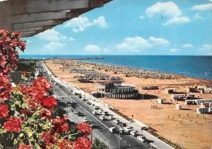 Italy Riviera Adriatica Rimini, Sea Promenade and Beach Poste Italiane Stamp