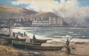 LLANDUDNO, Wales, UK, 1900-10s; A Rough Morning, AS; Corbley, TUCK 7199