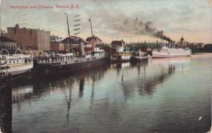 Waterfront and shipping,Victoria,Canada,PU-1909