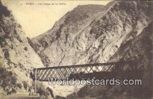 Blida, France, Carte, Postcard Les Gorges de la Chiffa Blida Les Gorges de la...