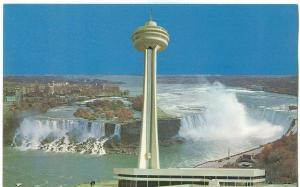 Skylon, Niagara International Centre, Niagara Falls, Canada 1964 unused Postcard