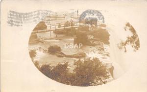 A31/ Bemus Point? New York NY Real Photo RPPC Postcard 1910 Waterfall