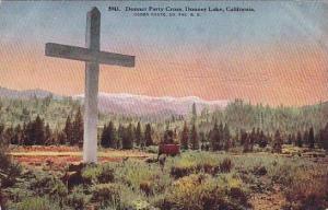 Donner Party Cross, Donner Lake,  California,   00-10s