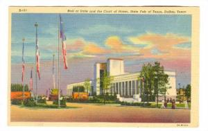 State Fair of Texas, Dallas, Texas, 30-40s ; Hall of State & the Court of Honor