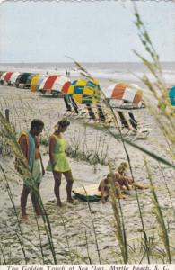 MYRTLE BEACH , South Carolina , PU-1977 ; Golden touch of Sea Oats