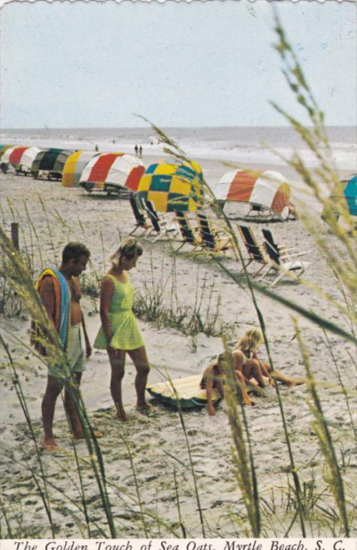 MYRTLE BEACH , South Carolina , PU-1977 ; Golden touch of Sea Oats
