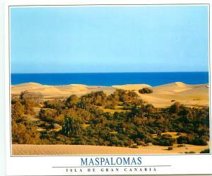 Postcard Spain Espana Greeting Gran Canaria Maspalomas # 2497A