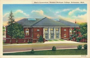 USA Men's Gymnasium Western Michigan College Kalamazoo Linen 03.31