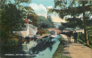 Wales PENDDOL on the canal Llangollen
