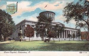 Ohio Columbus State Capitol1908