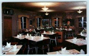 FORT WAYNE, Indiana IN ~ Roadside DINING KEY ROOM Lincoln Highway 1950s Postcard