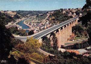 France Dinan Ville Medievale Le Viaduc et la Vallee de la Rance