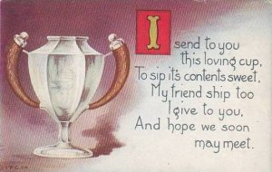 Fred Cavally Message Series A Loving Cup
