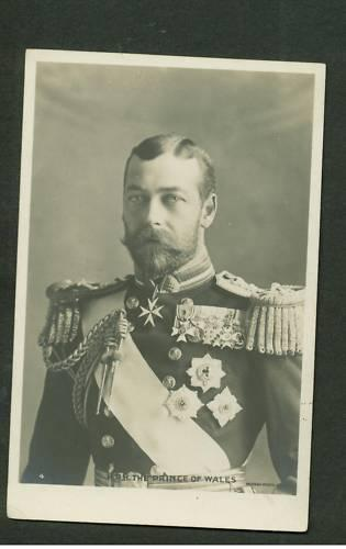 Mint HRH Prince of Wales real picture Postcard
