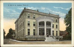 Jackson TN YMCA c1920 Postcard rpx