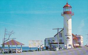 Matane, One of the Several Lighthouses, ST. LAWRENCE, Quebec, Canada, 40-60's