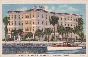Florida St Augustine Hotel Marion on The Bay Curteich