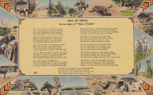 Hell in TEXAS , 1930-40s ; Poem