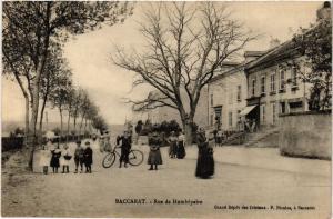 CPA  Baccarat - Rue de Humbépaire  (484389)