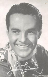 Johnny Downs Western Actor Mutoscope Unused