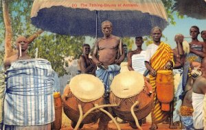 Ghana Gold Coast The Talking Drums of Ashanti Postcard