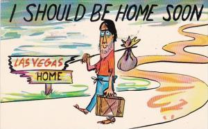 Nevada Las Vegas I Should Be Home Soon 1968