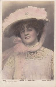 RP, Miss Marie Studholme - English Actress & Singer, PU-1908