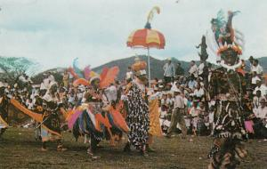 PORT OF SPAIN, Trinidad, 40-60s; Carnival, Band of the Year (Back to Africa)