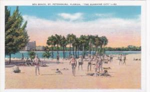 Spa Beach St Petersburg Florida